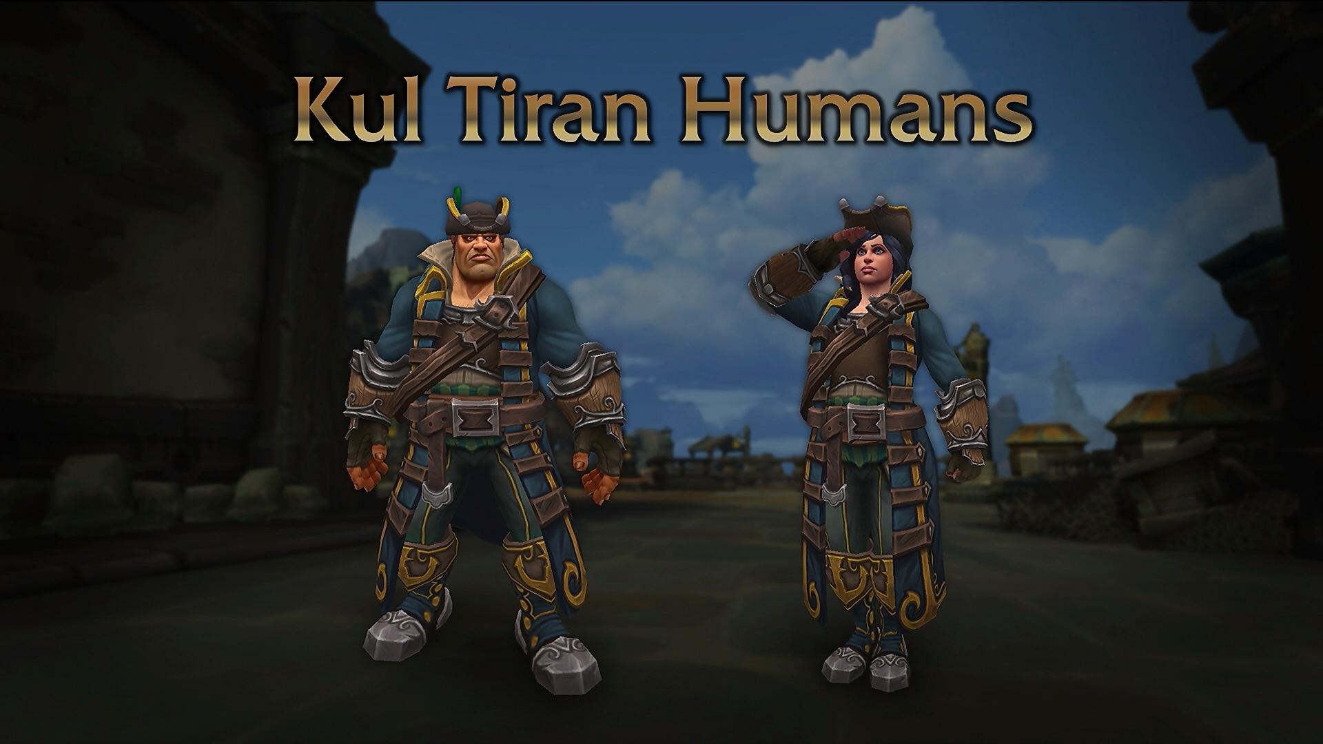Кул-тирасцы - маунты, расы и способности